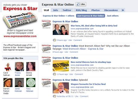 Express & Star Facebook page